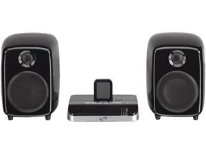 Ilive ISDB752B Black Docking Station with Speakers for Iphone