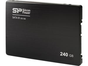 "Silicon Power S60 3K P/E Cycle Toggle MLC 2.5"" 240GB 7mm SATA III 6Gb/s Internal Solid State Drive (SSD)"