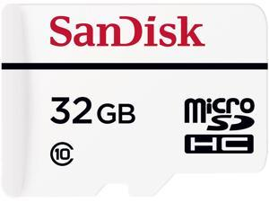 SanDisk 32GB High Endurance microSDHC Class 10 Memory Card with Adapter (SDSDQQ-032G-G46A)