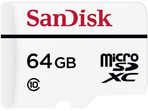 SanDisk 64GB High Endurance microSDXC Class 10 Memory Card with Adapter (SDSDQQ-064G-G46A)