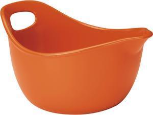 Rachael Ray 3-qt. Stoneware Mixing Bowl, Orange