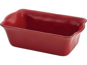 Rachael Ray 9x5-in. Cucina Loaf Pan, Cranberry