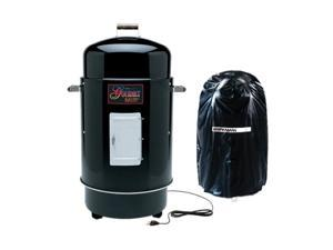 Brinkmann Gourmet Electric Smoker with Vinyl Cover - Black