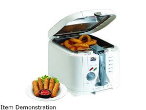 MaxiMatic EDF-1300S Elite Cuisine Deep Fryer/slow cooker/Multi Cooker, 5-Quart, Silver
