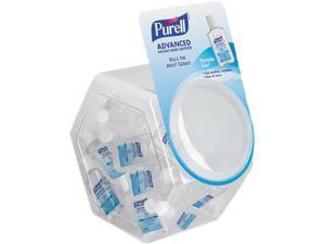 Gojo 390136BWL Advanced Instant Hand Sanitizer Gel, 1 oz Bottle, Lemon Scent, 36-Bowl