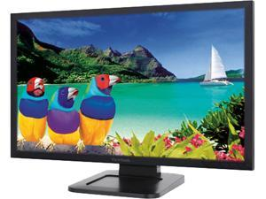"ViewSonic TD2421 24"" Touch Monitor, 1920 x 1080, 50,000,000:1 Contract Ratio, 250 cd/m2, VESA Compatible 100 x 100 mm, 178/178 Viewing Angles, DisplayPort, HDMI&VGA, Build-in Speaker"
