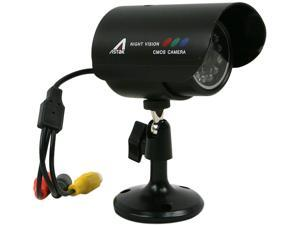 Astak CM-818W Color Weatherproof (Indoor/Outdoor) Security Camera with Night Vision