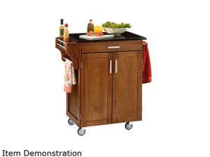 Home Styles 9001-0064 Create-a-Cart Cottage Oak Cuisine Cart with Black Granite Top