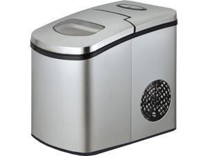 Avanti - IM12C-IS - Portable/Countertop Ice Maker, Silver, 9 3/4W x 14D x 13H