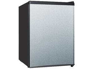 Midea WHS 87LSS1 2.4 Cubic Foot Stainless Steel Single Door Compact Refrigerator