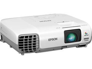 Epson - V11H686020 - Epson PowerLite 99WH LCD Projector - HDTV - 16:10 - Front, Rear, Ceiling - UHE - 200 W - 5000 Hour