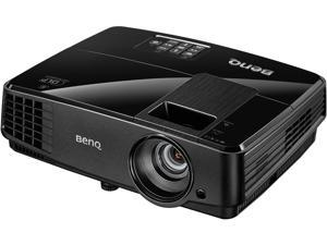 BenQ MS504A SVGA 800 x 600, 3200 ANSI Lumens, 13,000:1 Contrast Ratio, Dual Analog VGA Inputs, SmartEco™ lamp technology for up to 10,000 hours lamp life, RS-232 control, DLP Data Projector
