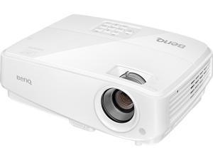 "BenQ MX528E Eco-Friendly XGA Business Projector, 3300 ANSI Lumens, 13000:1 Contrast Ratio, 60""-180""/300"" Image Size, D-Sub, HDMI x 2, USB, Composite Video, S-Video, Built-in Speaker"