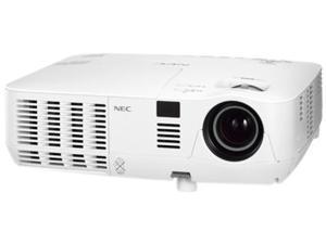 NEC - NP-V311W - NEC Display NP-V311W 3D Ready DLP Projector - 720p - HDTV - 16:10 - F/2.41 - 2.55 - AC - 225 W - SECAM,