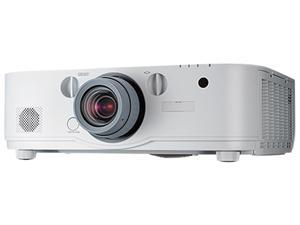 NEC PA571W LCD Projector - 3D - 5700-lumens - 1280 x 800 - 16:10 - 3D - No Lens - LAN, Lens Sold Separately