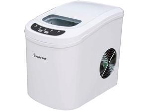 Magic Chef MCIM22W 27 lb. Portable Countertop Ice Maker, White