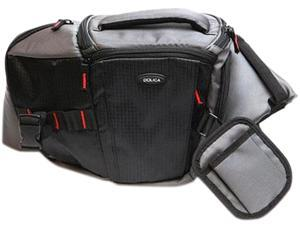 DOLICA SB-015BK Black Professional DSLR/ Mirrorless ILC Sling Bag