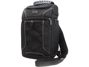 Professional Camera Bag / Backpack by USA Gear with Rain Cover Accesory Storage and Customizable Dividers - Works with Canon , Nikon , Sony and Many Other DSLR , Mirrorless , Action and Instant Camera