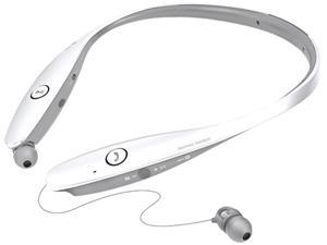 LG Electronics Tone Infinim HBS-900 Bluetooth Wireless Stereo Headset- Retail Packaging - White