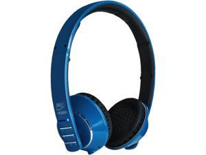 MEELectronics AF32 Blue Air Fi Runaway Bluetooth Stereo Wireless Headphone with Microphone