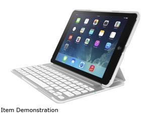 Belkin QODE Ultimate Keyboard/Cover Case for iPad Air - White