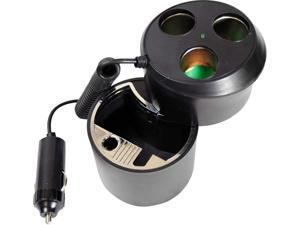 Pyle PL12AT3C Ashtray Combo Auto Adapter