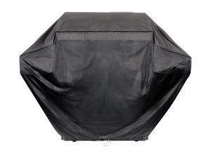 Brinkmann 812-9092-S 55 in. Grill Cover- Black