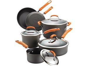 Rachael Ray 10-pc. Nonstick Hard Anodized II Cookware Set