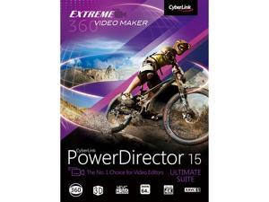 CyberLink PowerDirector 15 Ultimate Suite