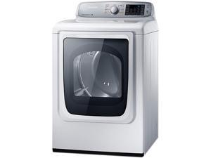 SAMSUNG DV50F9A6EVW Neat White 7.4 cu. ft. Electric 7.4 cu. ft. Capacity Front Load Dryer