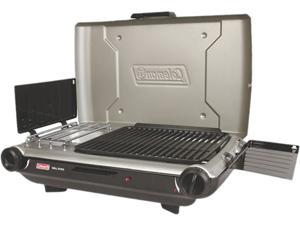 Coleman PerfectFlow&trade Portable Camp Propane Grill/Stove+