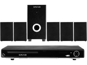 Craig Electronics 5.1 Channel Home Theater System With DVD Player