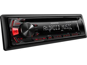 Kenwood KDC-122U CD Single DIN In-Dash Car Stereo Receiver