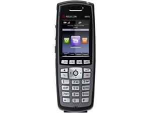 SpectraLink 2200-37150-001 8440 Handset, Black (No power supply, cradle or cable is included)