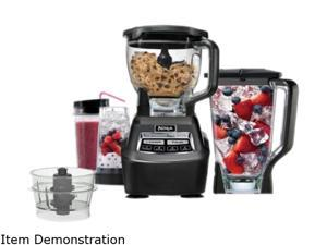 Ninja BL771 Black MEGA Blender with Single Serve