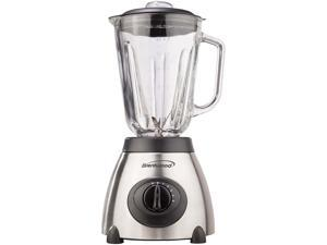 Brentwood Appliances JB-800 5-Speed Blender with Stainless Steel Base and Glass Jar