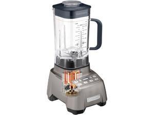 Blender by Cuisinart Hurricane 2.25 Peak Horsepower: Large 60-ounce BPA-free Tritan plastic jar withsoft-grip handle