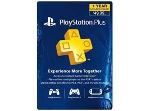 PS Plus 12 Mnth Sub Card Live