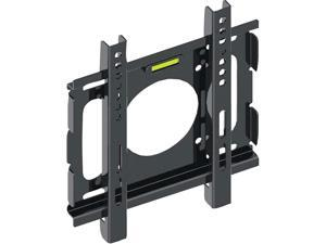 "Pyle PSW446F Black 10""-32"" Universal Flat Panel Flush TV Mount Bracket 77 lbs VESA:7.9 ""X 7.9"""
