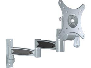 Pyle - 10-24'' Universal Triple Arm Swivel/Articulating  LCD TV Wall  Mount
