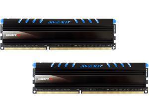 Avexir AVD3U16000904G-2CW Core Series (Blue LED) 8GB Kit (2 x 4GB) Dual Channel 240-pin DDR3 SDRAM DDR3 1600 (PC3 12800) ...
