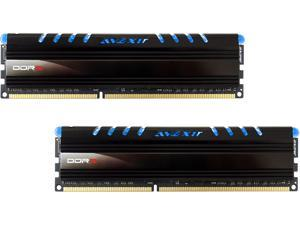Avexir Core Series (Blue LED) 8GB Kit (2 x 4GB) Dual Channel 240-pin DDR3 SDRAM DDR3 1600 (PC3 12800) Desktop Memory Module AVD3U16001104G-2CW