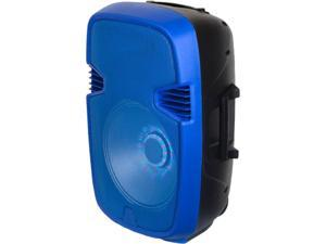 IQ Sound Speaker System - Portable - Battery Rechargeable - Wireless Speaker(s) - Blue