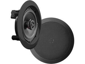 New Pyle PDIC81RDBK 8'' Two-Way In-Ceiling Speaker System (Pair)
