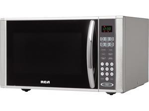 Curtis RCA RMW1138 1000 W 1.1 Cu. ft. Countertop Microwave Oven, Stainless Steel (Silver)