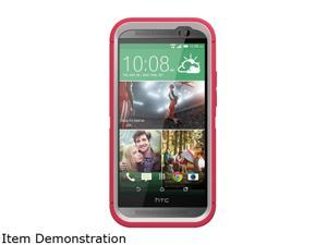 OtterBox HTC One (M8) Defender Neon Rose