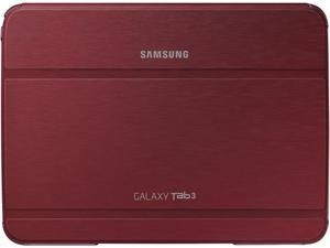 """Red Galaxy Tab 3 10.1"""" Book Cover"""