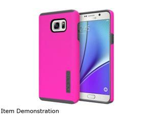 Samsung Galaxy Note 5 Case, Incipio Dual PRO Series [Pink/ Gray] Dual Layer Rubberized Hard Cover on Silicone Skin Heavy Duty Protective Hybrid Case for Samsung Galaxy Note 5
