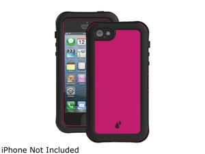 Ballistic Case - HY1026-A195 - HYDRA Case for Apple iPhone 5 in Pink/Black