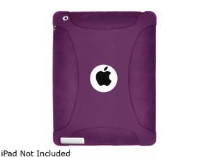 Amzer Silicone Skin Jelly Case - Purple For The new iPad